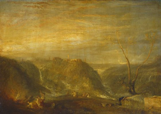 Turner, Joseph Mallord William: The Rape of Proserpine. Fine Art Print/Poster. Sizes: A1/A2/A3/A4 (003540)